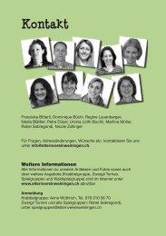 Weitere Informationen - Elternverein Weiningen