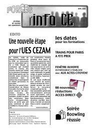 Info CE - Le site du CAES de la région Lorraine a déménagé
