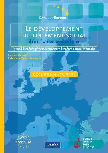 Le développement du logement social - L'Union sociale pour l'habitat