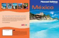 Mexico - Pleasant Holidays