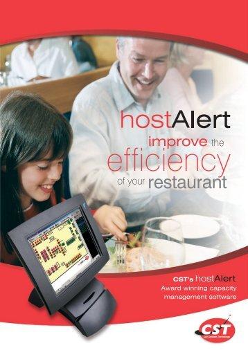 Host Alert - FIDA Systems