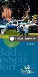Juni 2012 - Tagungs- und Kongresszentrum Bad Sassendorf