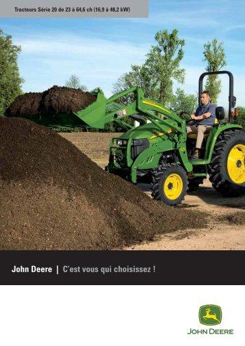 Tracteurs compacts serie 3020 4020 - John Deere
