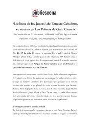 'La fiesta de los jueces', de Ernesto Caballero, se ... - Publiescena