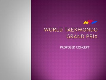 TAEKWONDO GRAND PRIX - Suomen Taekwondoliitto