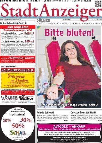 Stadt Anzeiger Dülmen KW 30