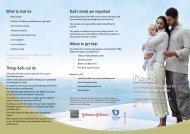 fathers brochure. - Calvary Health Care Tasmania Lenah Valley ...