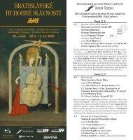 dokument na stiahnutie - Bratislavské hudobné slávnosti