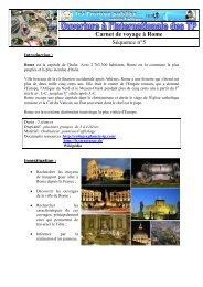 Carnet de voyage à Rome Séquence n°5 - Espace Collèges ...