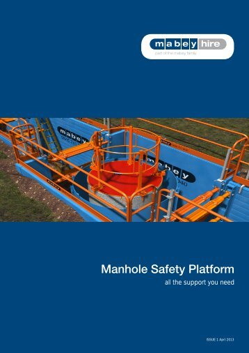 Manhole Safety Platform - Mabey Hire