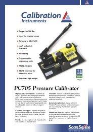 PC705 Pressure Calibrator - Eurokoc