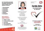 Cardio-Aktiv - Turbo Schnecken