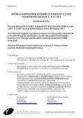 Aikuisten ja nuorten TAEKWONDO SM 2011 - Suomen ... - Page 2