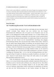 Pavel Novotný: Zur Visualisierung literarischer Texte im ... - Webnode