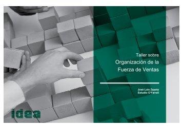 (Microsoft PowerPoint - Organizaci\363n Fza de Ventas \(JLZ ... - IDEA