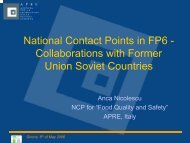 Collaborations with Former Union Soviet Countries - Young-Train