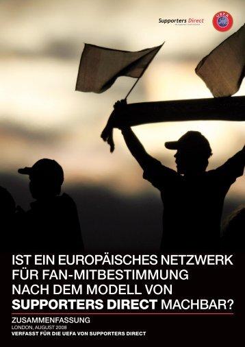 IST EIN EUROPÄISCHES NETZWERK FÜR FAN ... - Supporters Direct