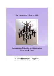 Broschüre mit den Werken von Hildegard Schürk-Frisch