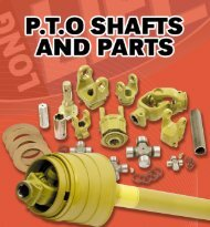 pto shaft components