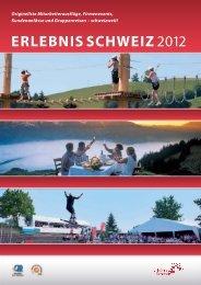 ERLEBNIS SCHWEIZ 2012