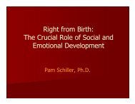 The Crucial Role of Social and Emotional Development