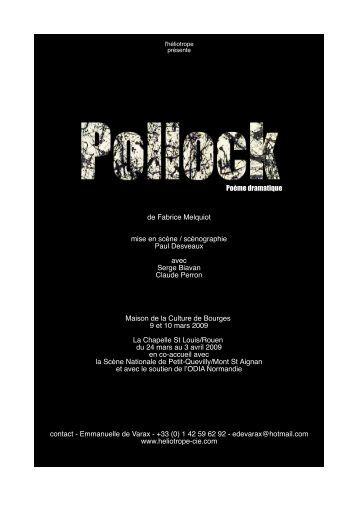 Dossier PDF (540Ko) : Pollock - L'Eclat