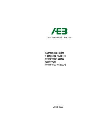 Cuenta de resultados de la banca española hasta junio de 2009