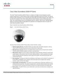cisco – civs – 2630 ip vr h.264 external dome - VIS Security