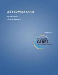 2011 Safety Survey - Lee's Summit CARES