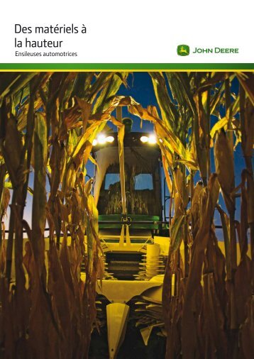 Télécharger la brochure - John Deere