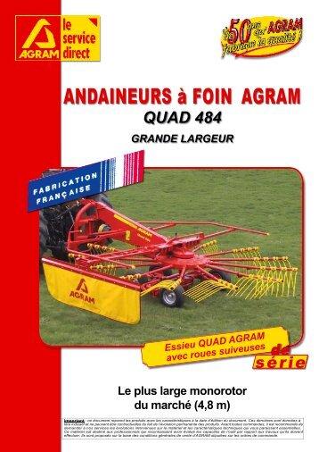 ANDAINEURS à FOIN AGRAM