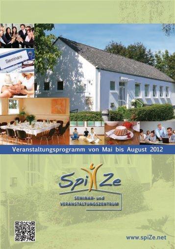 Das SpiZe-Magazin hier aufrufen: Programm Mai ... - Heilenergetiker