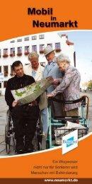 Mobil in Neumarkt - Wegweiser für Senioren und Menschen