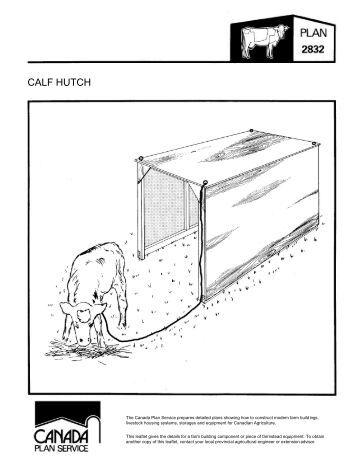 Calf Catcher Plans