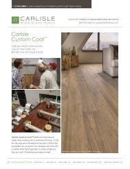 Carlisle Custom CoattM - Carlisle Wide Plank Floors