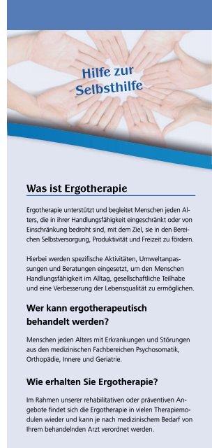 Ergotherapie Badeabteilung