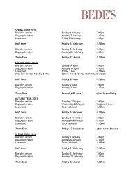 Term Dates 2013-14