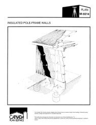 Insulated Pole Frame Walls Leaflet (Metric) - Canada Plan Service ...