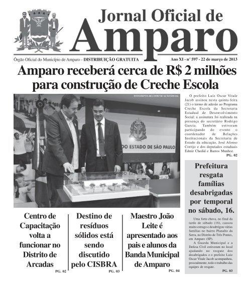 22/03/2013 - Prefeitura Municipal de Amparo