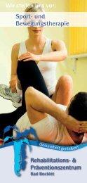 Rehaklinik Bad Bocklet: Sport- und Bewegungstherapie