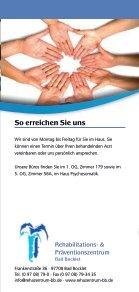 Rehaklinik Bad Bocklet: Sozialberatung - Seite 6
