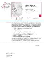 4. Mainzer Seminartage für klassische Homöopathie DGKH ...