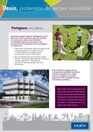 fiche_secteur_mutualiste_2009 - Dexia Crédit Local
