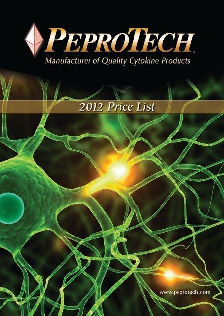 2012 Price List - PeproTech, Inc.