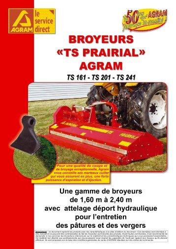 BROYEURS «TS PRAIRIAL» AGRAM