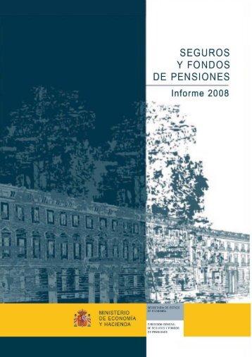 Informe del sector asegurador de 2008