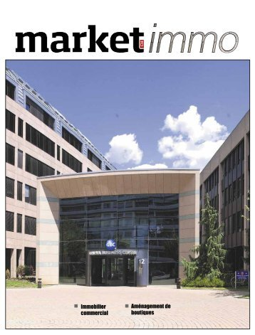 Immobilier commercial Aménagement de boutiques - Market