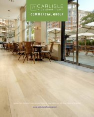 endless design possibilities - Carlisle Wide Plank Floors