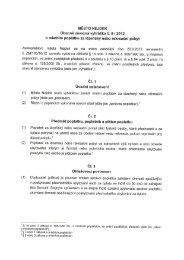 vyhláška č. 5/2012 o místním poplatku za lázeňský nebo ... - Mnichov