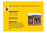 Präsentation AdolfKolping - Start - Katholisch in Steinfurt
